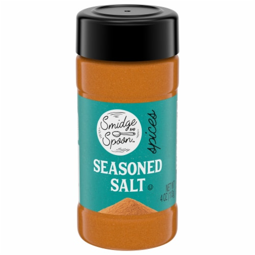 Smidge and Spoon™ Spices Seasoned Salt Perspective: front