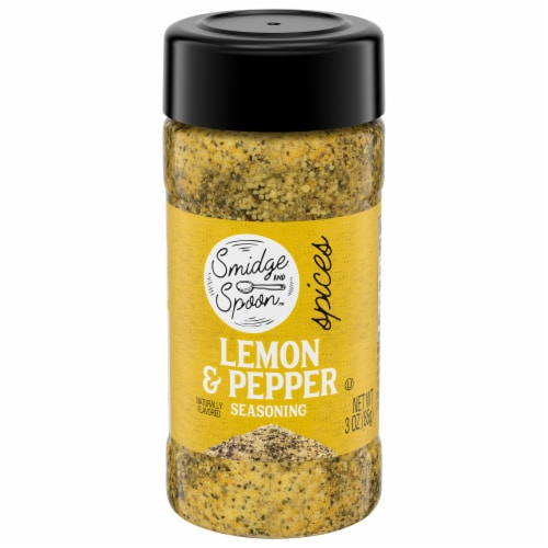 Smidge & Spoon™ Lemon & Pepper Seasoning Perspective: front