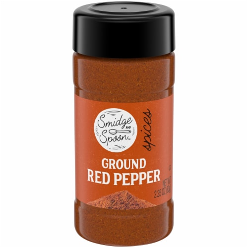 Smidge and Spoon™ Ground Red Pepper Spice Perspective: front