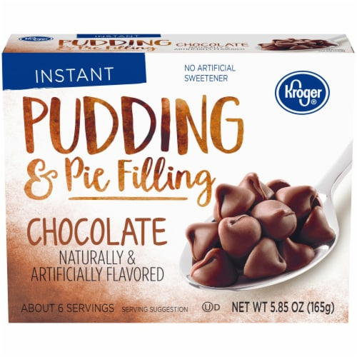 Kroger® Instant Chocolate Flavored Pudding and Pie Filling Perspective: front