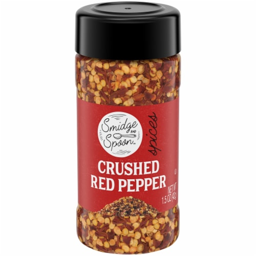 Smidge and Spoon Spices Crushed Red Pepper Perspective: front