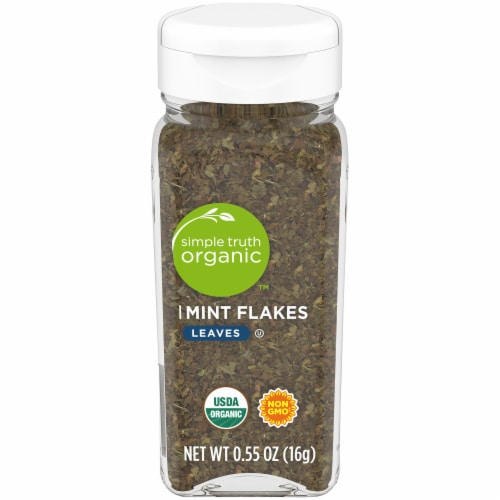 Simple Truth Organic™ Mint Flakes Perspective: front