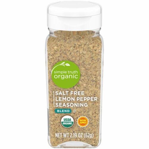 Simple Truth Organic™ Salt Free Lemon Pepper Seasoning Perspective: front