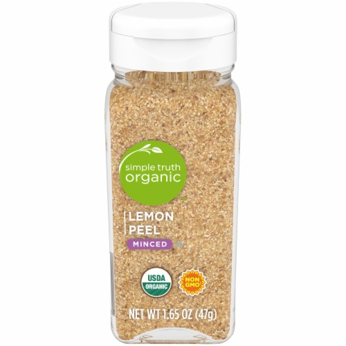 Simple Truth Organic™ Minced Lemon Peel Perspective: front