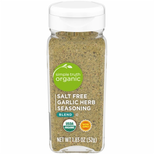 Simple Truth Organic™ Salt Free Garlic Herb Seasoning Blend Perspective: front