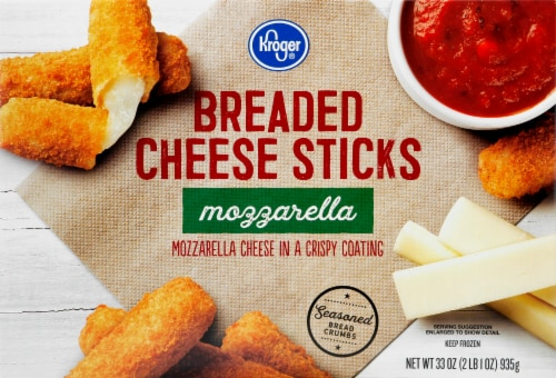 Kroger® Mozzarella Breaded Cheese Sticks Perspective: front