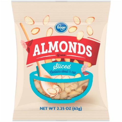 Kroger® Sliced Almonds Perspective: front