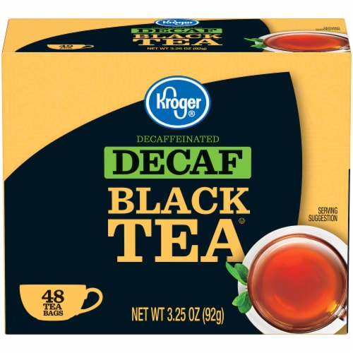 Kroger® Decaffeinated Black Tea Bags Perspective: front