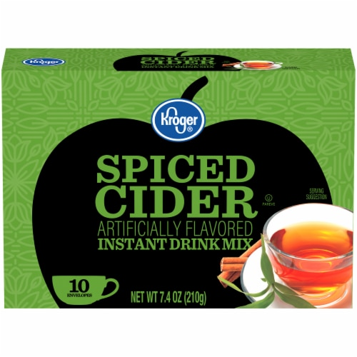 Kroger® Instant Spiced Cider Packets 10 Count Perspective: front