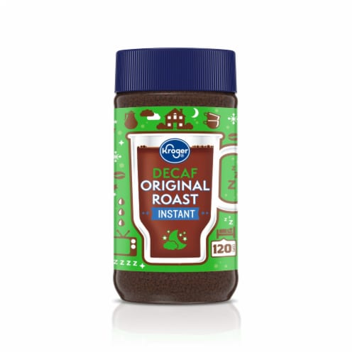 Kroger® Decaf Original Roast Instant Coffee Perspective: front