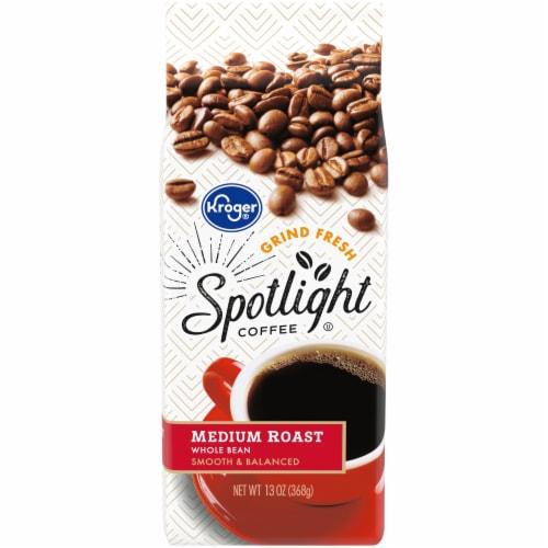 Kroger® Spotlight Regular Roast Whole Bean Coffee Perspective: front