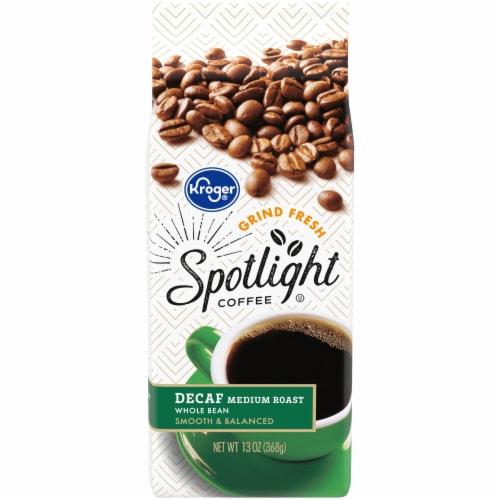 Kroger® Spotlight Decaf Medium Roast Whole Bean Coffee Perspective: front