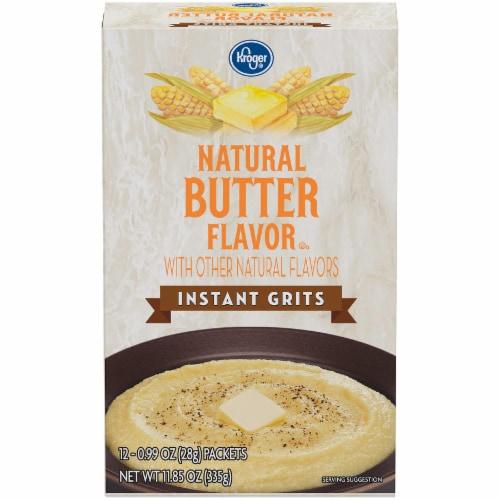 Kroger® Natural Butter Flavor Instant Grits Perspective: front