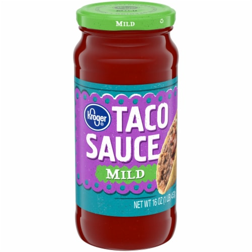 Kroger® Mild Taco Sauce Perspective: front
