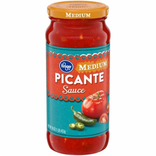 Kroger® Medium Picante Sauce Perspective: front