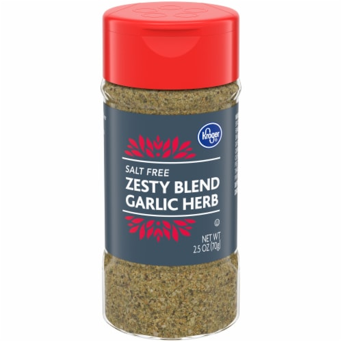 Kroger® Salt Free Garlic Herb Zesty Blend Perspective: front