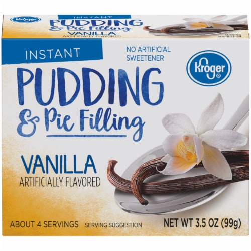 Kroger® Vanilla Instant Pudding & Pie Filling Perspective: front