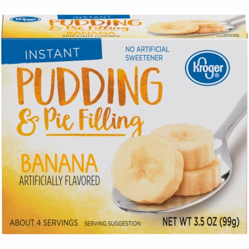 Kroger® Instant Banana Pudding & Pie Filling Perspective: front