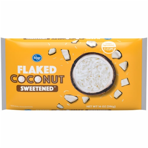 Kroger® Sweetened Flaked Coconut Perspective: front
