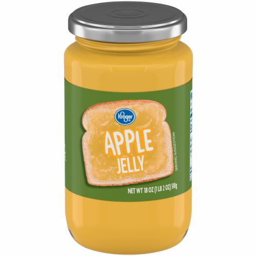 Kroger®  Apple Jelly Perspective: front