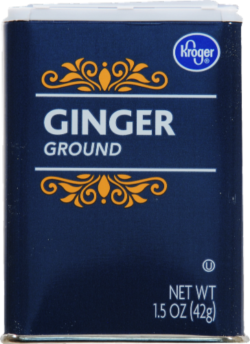 Kroger Ground Ginger Perspective: front