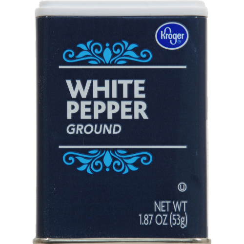 Kroger® Ground White Pepper Perspective: front
