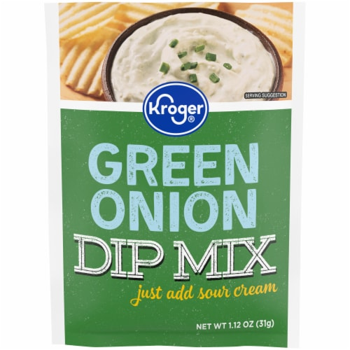 Kroger® Green Onion Dip Mix Perspective: front