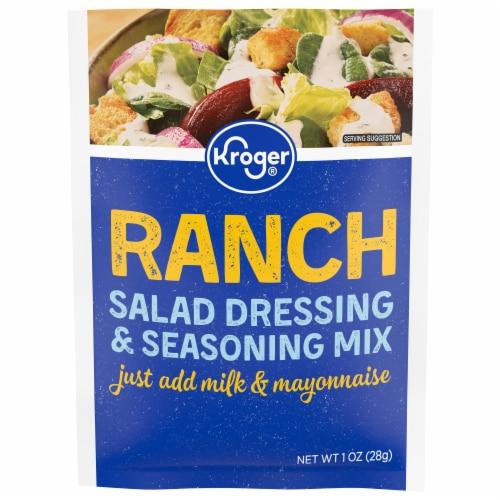 Kroger® Ranch Salad Dressing & Seasoning Mix Perspective: front