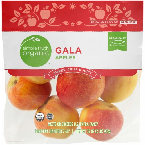 Simple Truth Organic™ Gala Apples Pouch Perspective: front