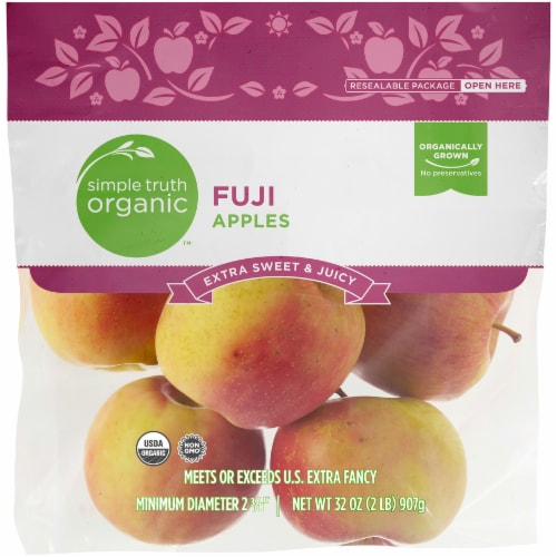 Simple Truth Organic™ Fuji Apples Bag Perspective: front