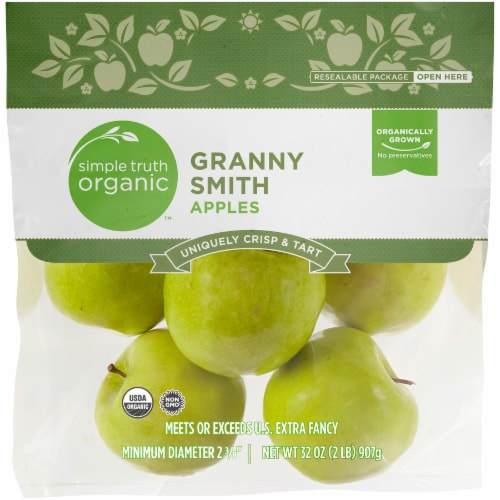 Simple Truth Organic™ Granny Smith Apples Perspective: front