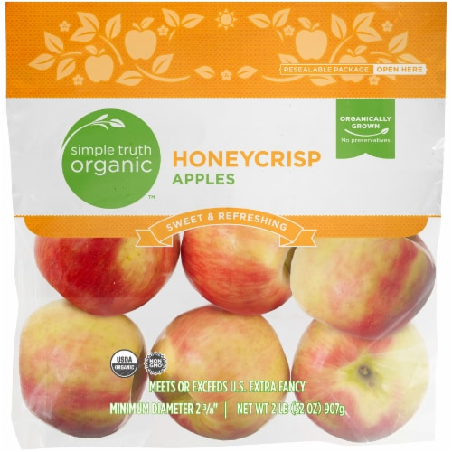 Simple Truth Organic™ Honeycrisp Apples Perspective: front