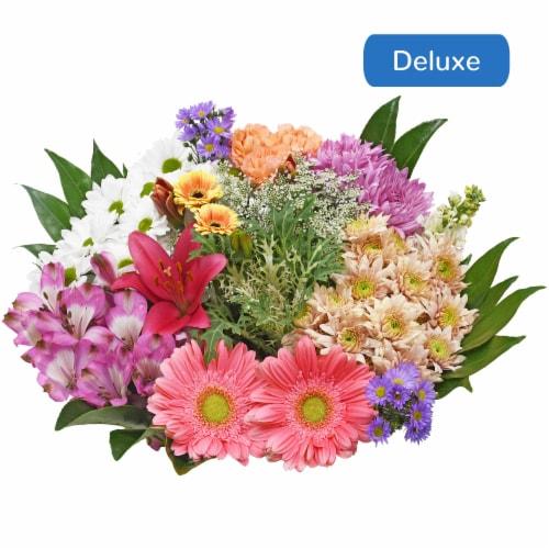 Bloom Haus™ Concerto White/Orange/Yellow Theme B Bouquet Perspective: front