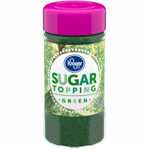Kroger®  Green Sugar Topping Perspective: front
