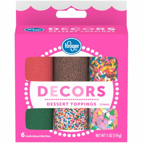 Kroger® Decors Dessert Toppings Assorted Perspective: front