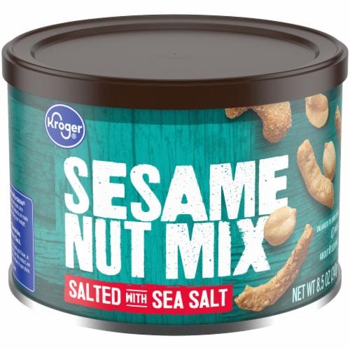 Kroger® Sesame Nut Mix Salted with Sea Salt Perspective: front