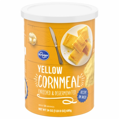 Kroger® Yellow Corn Meal Perspective: front