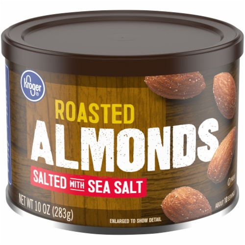 Kroger® Roasted Almonds with Sea Salt Perspective: front
