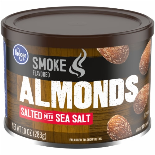 Kroger® Smoke Flavored Salted with Sea Salt Almonds Perspective: front