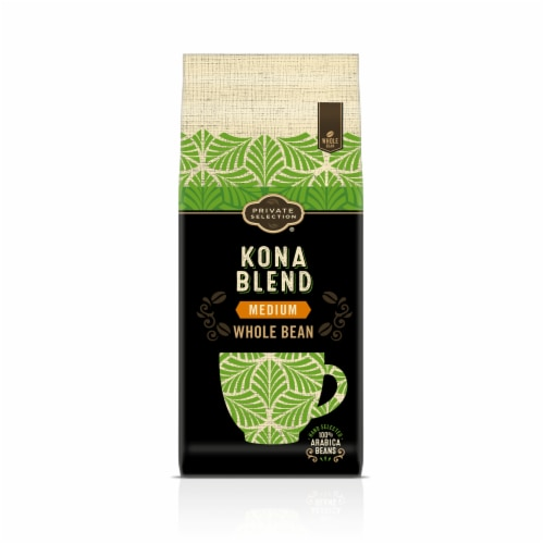 Private Selection® Kona Blend Medium Roast Whole Bean Coffee Perspective: front