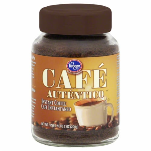 Kroger® Cafe Authentico Instant Coffee Perspective: front