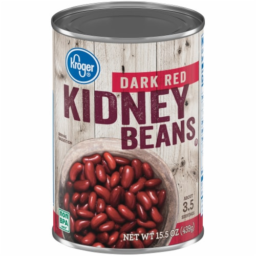 Kroger® Dark Red Kidney Beans Perspective: front