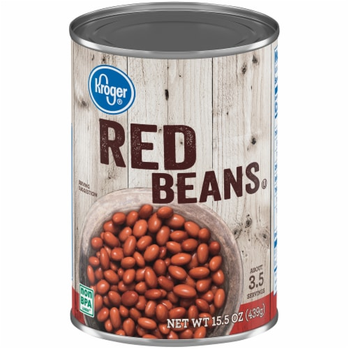 Kroger® Red Beans Perspective: front