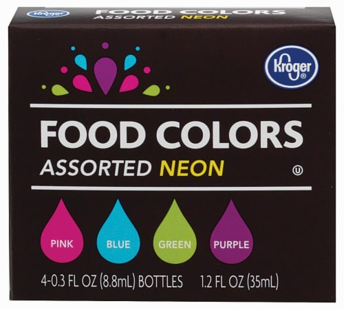 Smith\'s - Kroger® Neon Food Coloring Kit