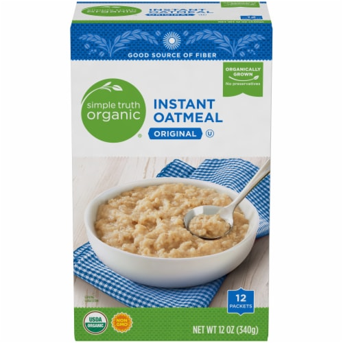 Simple Truth Organic® Original Instant Oatmeal Perspective: front