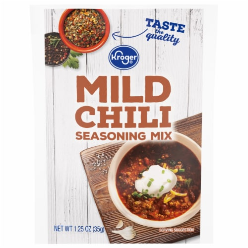 Kroger® Mild Chili Seasoning Mix Perspective: front