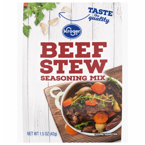 Kroger® Beef Stew Seasoning Mix Perspective: front