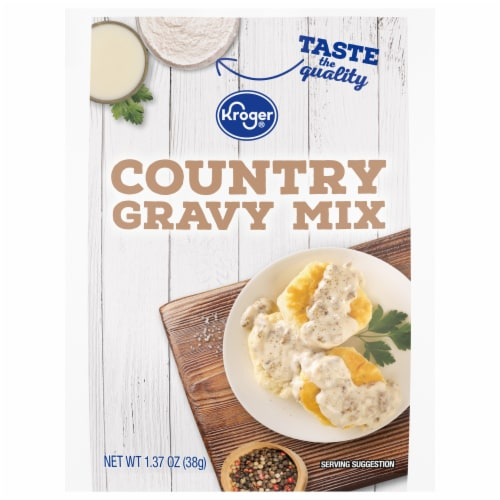 Kroger® Country Gravy Mix Perspective: front