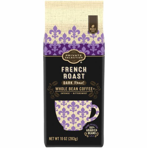 Private Selection® French Roast Whole Bean Coffee Perspective: front