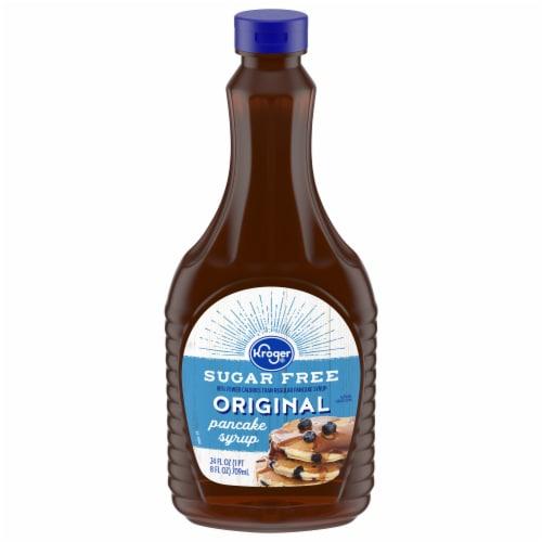 Kroger® Sugar Free Original Pancake Syrup Perspective: front